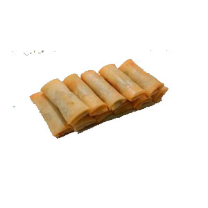 PRAWN SPRINGROLL WITH MAYONNAISE