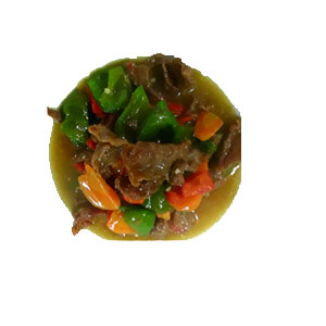 SLICED BEEF IN OYSTER SAUCE (LARGE)
