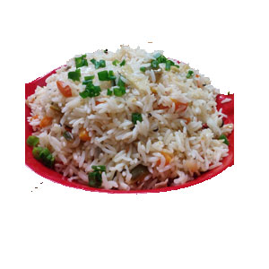 VEGETABLE FRIED RICE (LARGE)